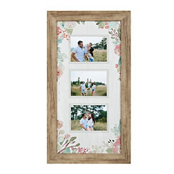 Floral Collage Frame