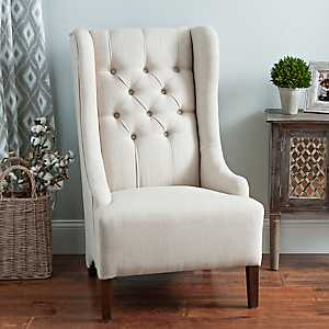 Madison Beige Accent Chair