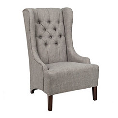 Madison Gray Accent Chair