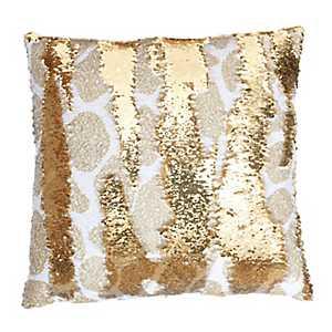 Georgina Giraffe Reversible Sequin Pillow