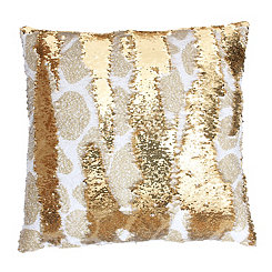 Georgina Giraffe Reversible Sequin Pillow