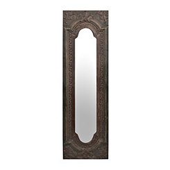 Yarbrough Antique Panel Mirror