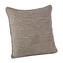Chenille Distressed Gray Pillow