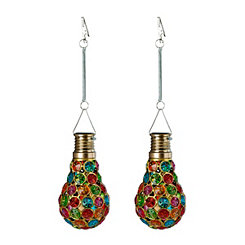 Beaded Solar Bulb Clip-On Umbrella Light, Set of 2