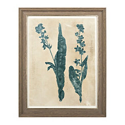Botanical Silhouette Framed Art Print