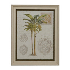 Palm Tree I Framed Art Print