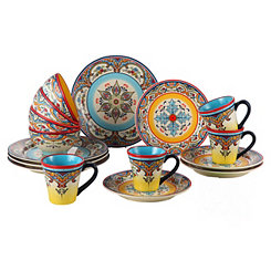 Zanzibar 16-pc. Dinnerware Set