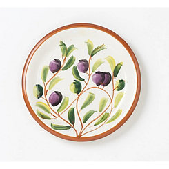 Zeitona Fruit Dinner Plates, Set of 4