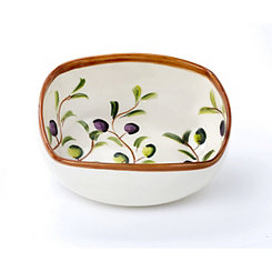 Zeitona Fruit Square Serving Bowl