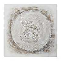 Abstract Neutral Canvas Art Print
