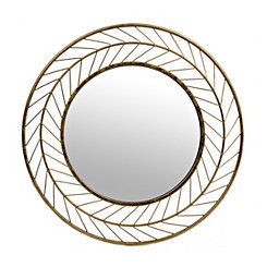 Gold Treasure Arrow Wall Mirror