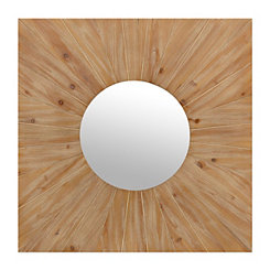 Raw Plank Wall Mirror