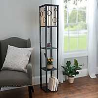 Circles Shelf Floor Lamp