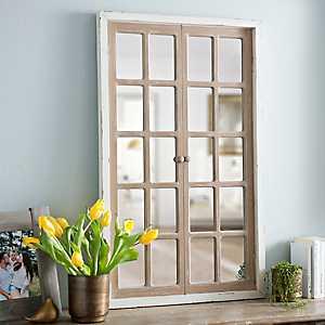 Farmhouse Paned Window Mirror