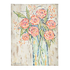 Floral Bouquet Canvas Art Print