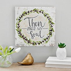 Then Sings My Soul Canvas Art Print