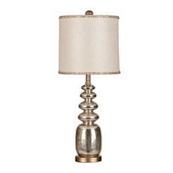 Riley Mercury Glass Table Lamp