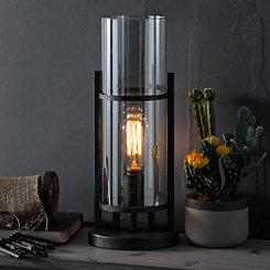 Gunmetal Edison Bulb Uplight
