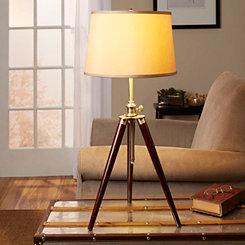 Tripod Survey Table Lamp