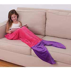 Allyson Mermaid Kid's Blanket