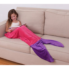 Allyson Mermaid Kid's Blanket