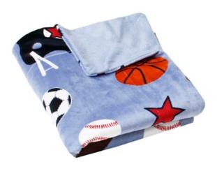 Sports Microplush Throw Blanket