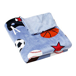 Sports Microplush Throw Blanket