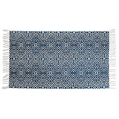 Anders Blue Diamond Rug