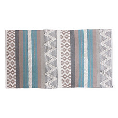 Jayden Blue Patterned Rug