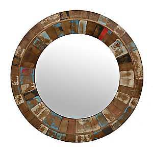 Emmett Rustic Wall Mirror