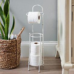 Antique White Toilet Paper Holder