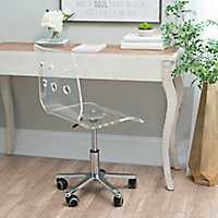 Clear Acrylic Office Chair
