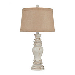 Natural Earthen Cream Table Lamp