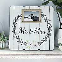 Mr & Mrs Picture Frame, 4x6