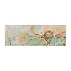 Nest Canvas Art Print