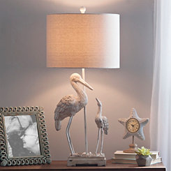 Two Cranes Table Lamp