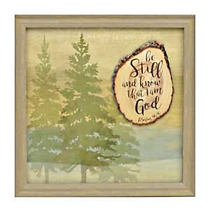 Be Still and Know Tree Shadowbox