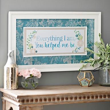 everything i am framed art print