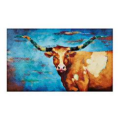 Embellished Horns Canvas Art Print