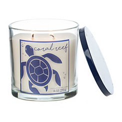 Coral Reef Jar Candle