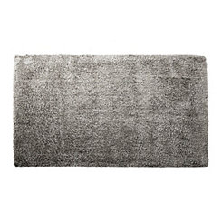 Gray Shag Area Rug, 5x7
