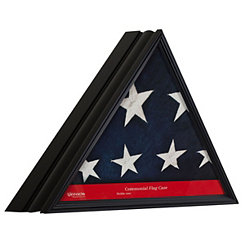 Black Triangle Flag Case