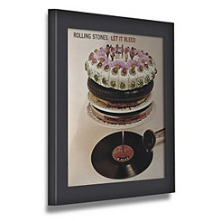 Black Vinyl Record Frame