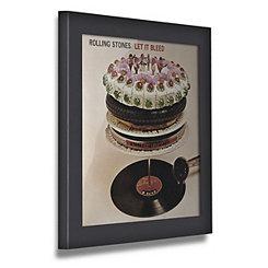Black Vinyl Record Frame