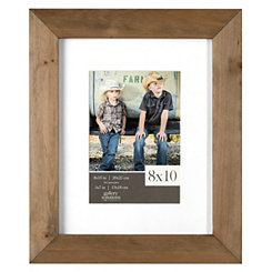 Natural Wood Picture Frame, 8x10