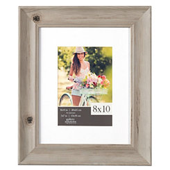 Wood Grain Whitewash Picture Frame, 8x10