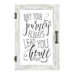 Journey Windowpane Plaque