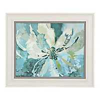Bloom in Blue Framed Art Print