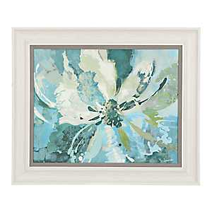 Bloom in Blue Framed Art Print