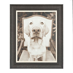 Sitting Framed Art Print